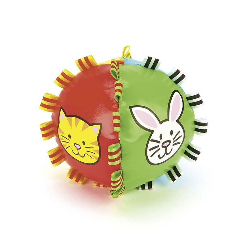 Farm Tigtag Chime Ball Activity Toy