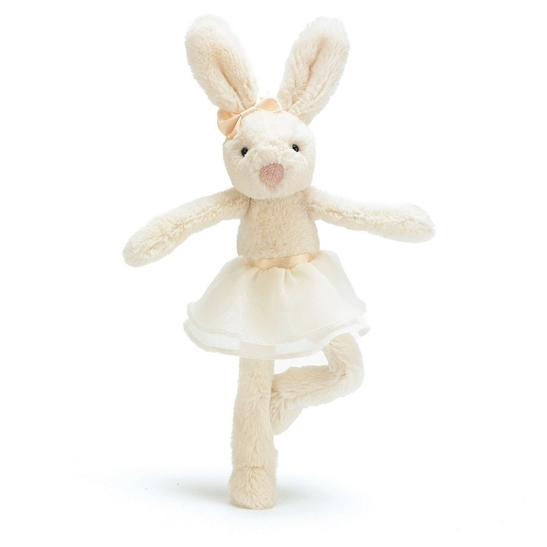 Tutu Lulu Cream Bunny Soft Toy