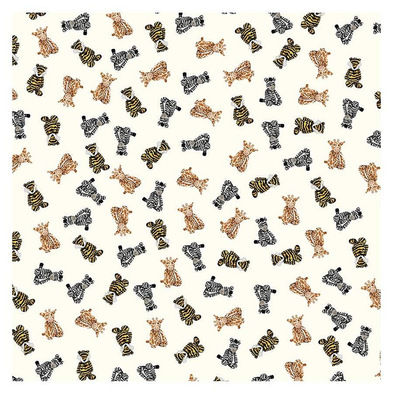 Bashful Jungle Wrapping Paper