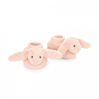 Bashful Blush Bunny Booties