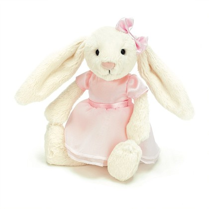 Bella Bunny Ballerina Soft Toy