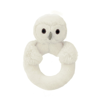 Bashful Owl Ring Rattle