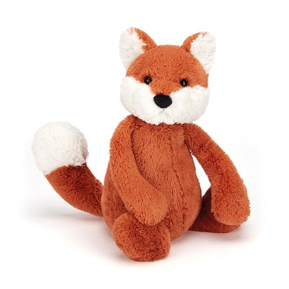 Bashful Fox Cub Soft Toy