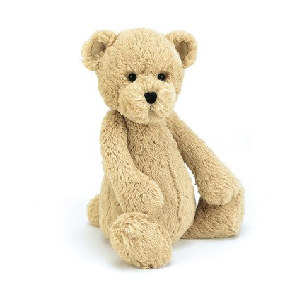 Bashful Honey Bear Soft Toy