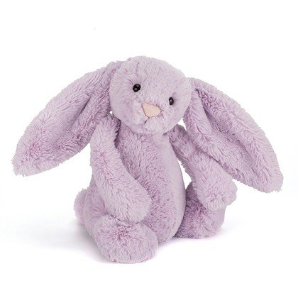 Bashful Hyacinth Bunny Soft Toy