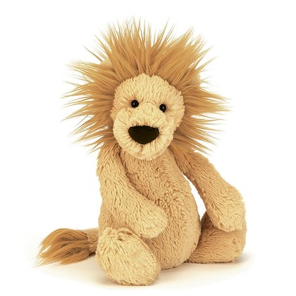 Bashful Lion Soft Toy