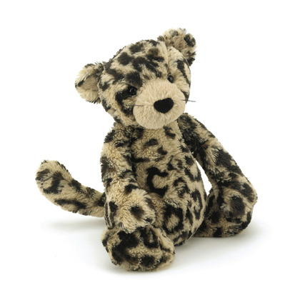 Bashful Leopard Soft Toy