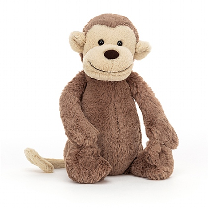 Bashful Monkey Soft Toy