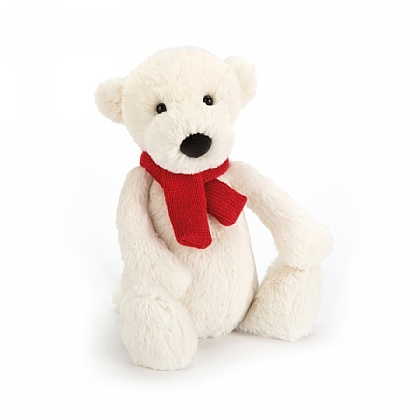 Bashful Polar Bear Soft Toy