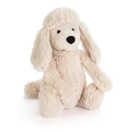 Bashful Poodle Pup Soft Toy