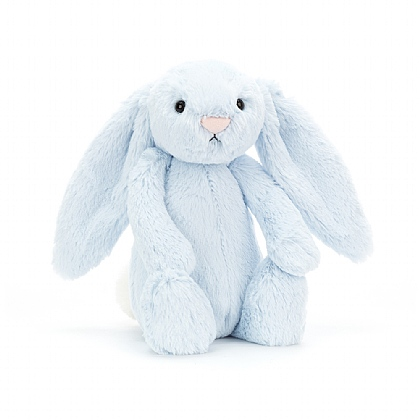 Bashful Blue Bunny Soft Toy