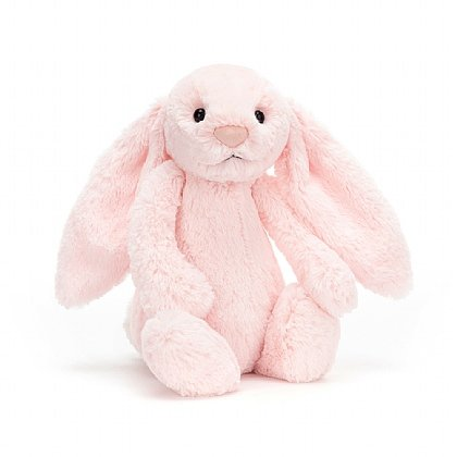 Bashful Pink Bunny Soft Toy