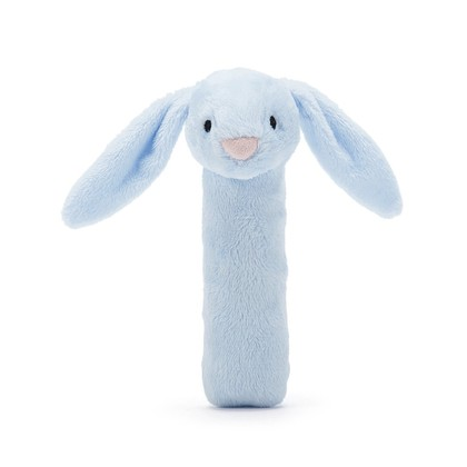 Bashful Blue Bunny Squeaker Toy
