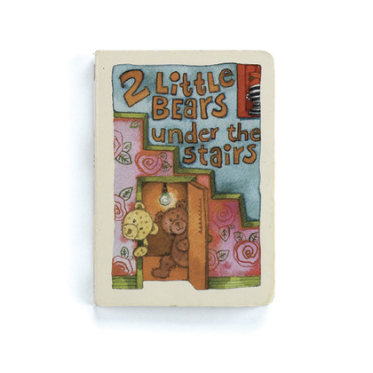 2 Little Bears Under the Stairs Board Book