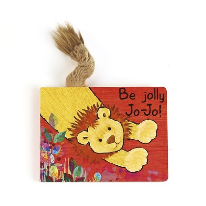 Be Jolly Jo-Jo Board Book