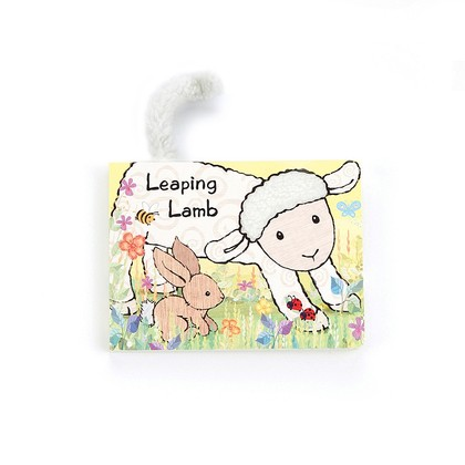 Leaping Lamb Board Book