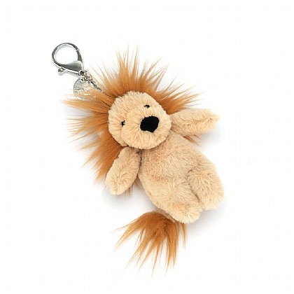 Bashful Lion Bag Charm