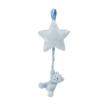 Bebe Blue Bear Star Musical Pull