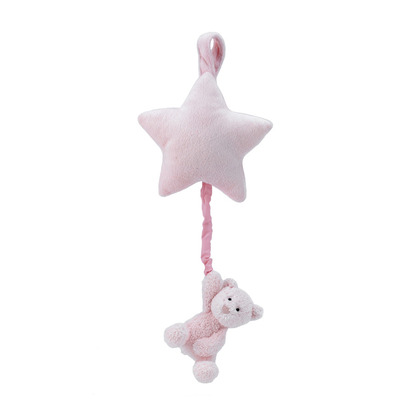 Bebe Pink Bear Star Musical Pull