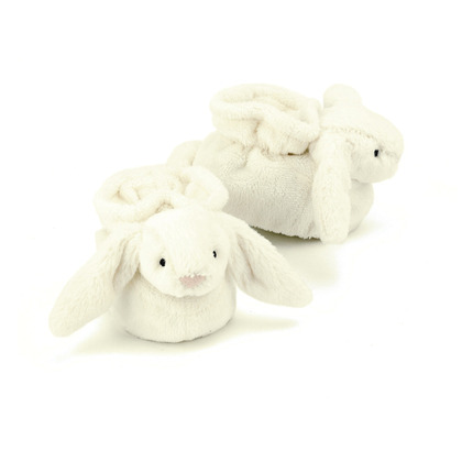 Bashful Cream Bunny Booties