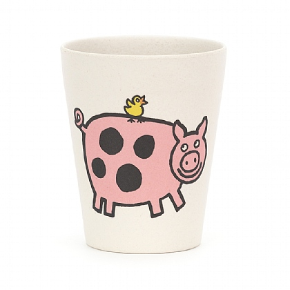 Farm Tails Bamboo Cup