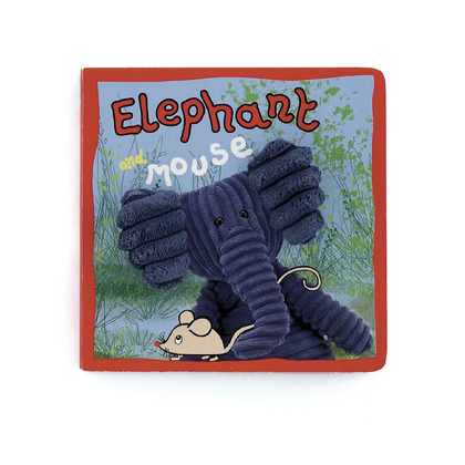 Elephant and Mouse Board Book