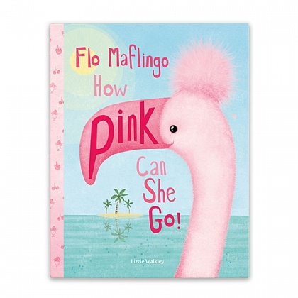 Flo Malfingo How Pink Can She Go Book