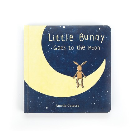 Little Bunny Goes to the Moon Book