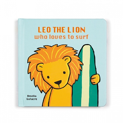 Leo The Lion Who Loves to Surf
