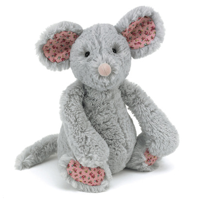 Bashful Blossom Grey Mouse