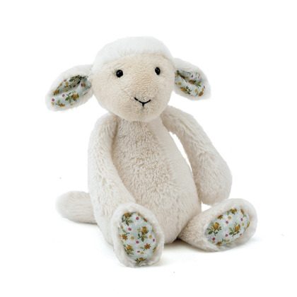 Blossom Bashful Cream Lamb Soft Toy