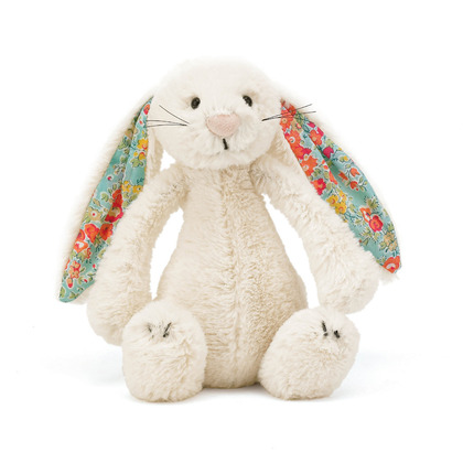 Blossom Bashful Cream Bunny Soft Toy