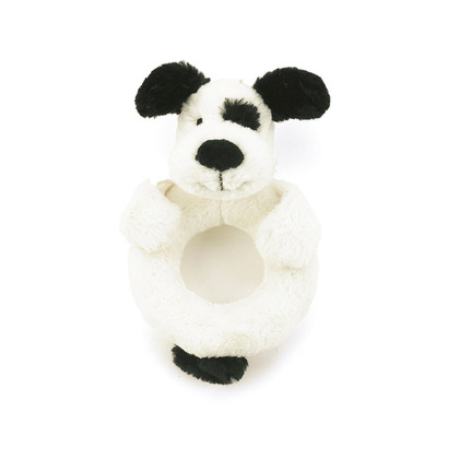 Bashful Puppy Ring Rattle