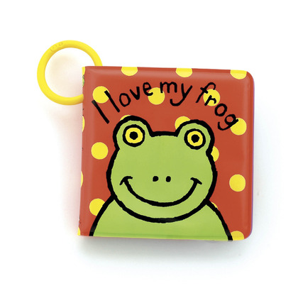 I Love My Frog Bath Book