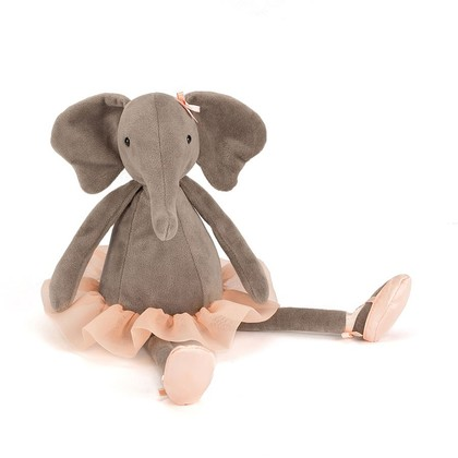 Dancing Darcey Elephant Soft Toy