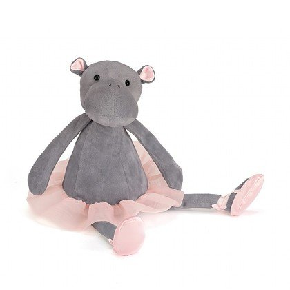 Dancing Darcey Hippo Soft Toy
