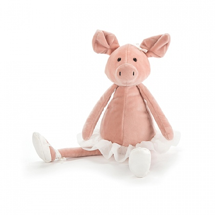 Dancing Darcey Piglet Soft Toy