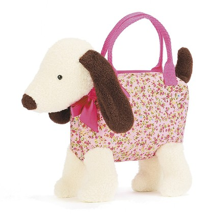 Dainty Dog Cream Bag