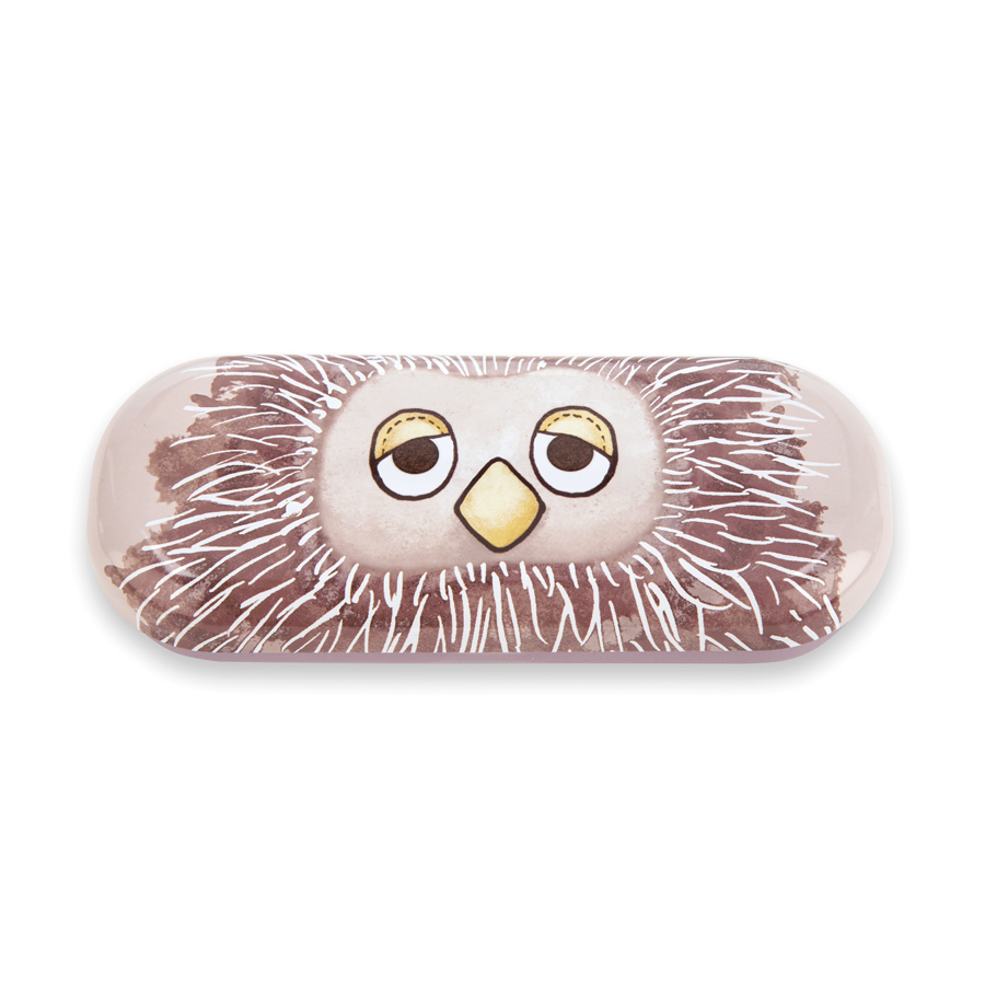 Don't Give a Hoot Glasses Case