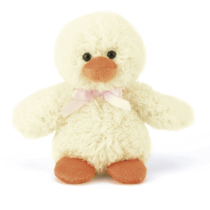 Dippet Cream Chick Soft Toy