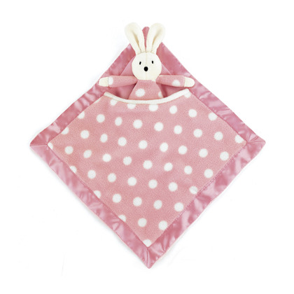 Dotty Pink Bunny Soother