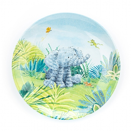 Elephants Cant Fly Melamine Plate