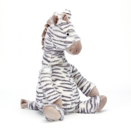 Fluffles Zebra Soft Toy