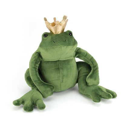 Frederick the Frog Prince Soft Toy