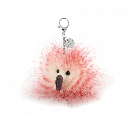 Flora Flamingo Bag Charm