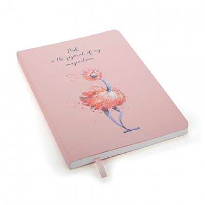 Glad To Be Me Pink Note Book