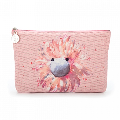 Glad to Be Me Pink Large Pouch
