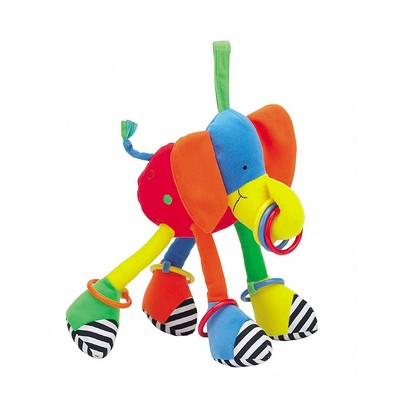 Hoopy Loopy Elephant Pram Toy