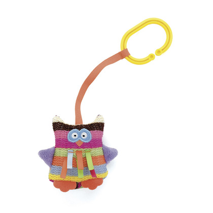 Little Hoot Owl Pram Toy