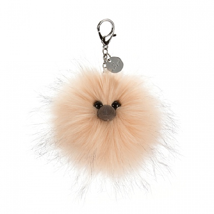 Just Peachy Bag Charm